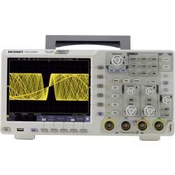 Digitální osciloskop VOLTCRAFT DSO-6084F, 80 MHz, 4kanálový, s pamětí (DSO), generátor funkcí