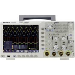 Digitální osciloskop VOLTCRAFT DSO-6104F, 100 MHz, 4kanálový, s pamětí (DSO), generátor funkcí