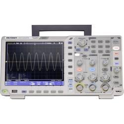 Digitální osciloskop VOLTCRAFT DSO-6202FM, 200 MHz, 2kanálový, s pamětí (DSO), generátor funkcí, funkce multimetru