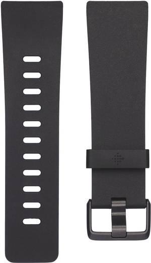 Ersatzarmband FitBit Versa Größe=L Schwarz