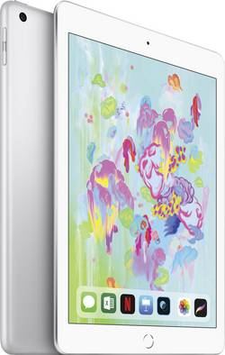 Image of Apple iPad 9.7 (März 2018) WiFi + Cellular 128 GB Silber