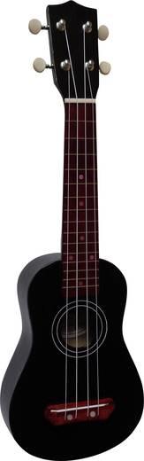 Ukulele MSA Musikinstrumente UK 6 Schwarz
