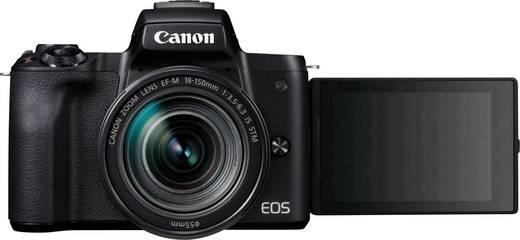 Systemkamera Canon EF-M 18-150 Kit EF-M 18-150 mm Gehäuse (Body), inkl. Akku, inkl. Standard-Zoomobjektiv 24.1 Mio. Pixe