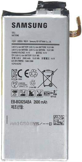 Handy-Akku Samsung Passend für: Samsung Galaxy S6 Edge 2600 mAh Bulk/OEM