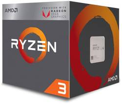 Image of Prozessor (CPU) Boxed AMD Ryzen 3 2200G 4 x 3.5 GHz Quad Core Sockel: AMD AM4 65 W