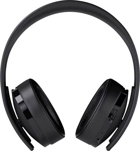 Gaming Headset Bluetooth Stereo Sony Computer Entertainment Wireless Headset - Gold Edition On Ear Schwarz