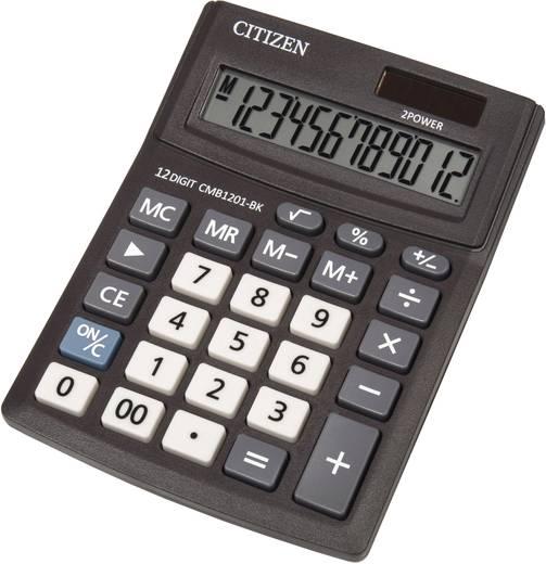 Tischrechner Citizen Office CMB1201 Display (Stellen): 12 solarbetrieben, batteriebetrieben (B x H x T) 102 x 31 x 137