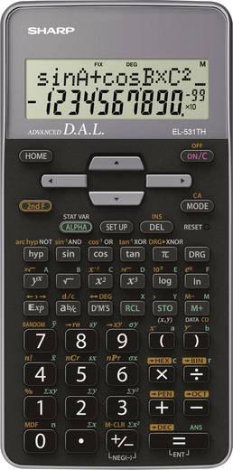 Schulrechner Sharp EL-531TH Grau Display (Stellen): 10 batteriebetrieben (B x H x T) 80 x 15 x 161 mm
