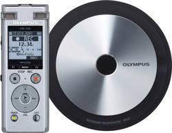 Digitální diktafon Olympus DM-720 Meet & Record Kit Small Maximální čas nahrávání 985 h stříbrná