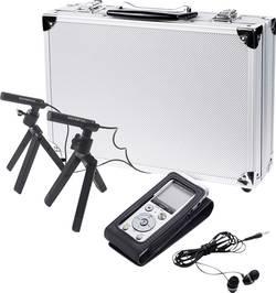 Digitální diktafon Olympus DM-720 Conference Kit Maximální čas nahrávání 985 h stříbrná