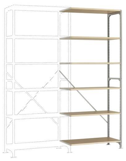 Manuflex RM3186 Fachbodenregal-Anbaumodul (B x H x T) 970 x 2500 x 300 mm Stahl verzinkt Verzinkt Holzboden