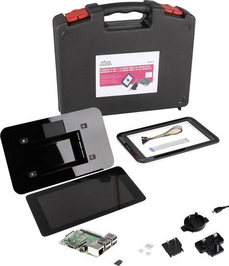 "Raspberry Pi® 3 Model B+ 7 Zoll Tablet-PC Set 1 GB Noobs inkl. Betriebssystem ""Noobs"", inkl. Gehäuse, inkl. Netzteil"