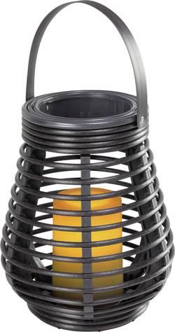 Image of Dekoleuchte LED 0.6 W Amber Polarlite Rattan 180 Dunkel-Braun