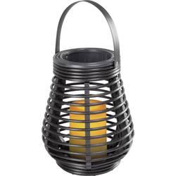 Image of Dekoleuchte LED 0.6 W Amber Polarlite Rattan 180 Dunkelbraun