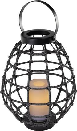 Image of Dekoleuchte LED 0.06 W Amber Polarlite Rattan 330 PL-8375085 Dunkelbraun