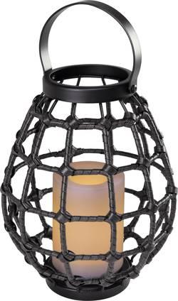 Image of Dekoleuchte LED 0.06 W Amber Polarlite Rattan 230 PL-8375090 Dunkel-Braun