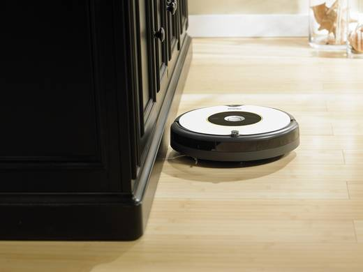 saugroboter irobot roomba 605 grau schwarz kaufen. Black Bedroom Furniture Sets. Home Design Ideas