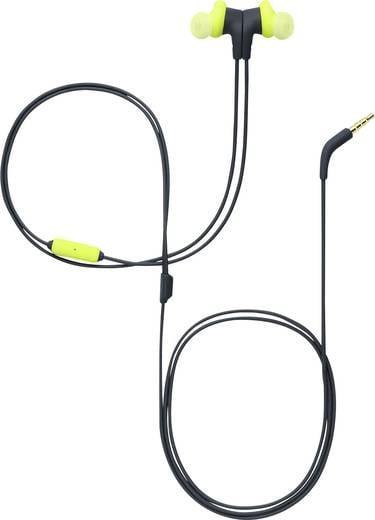 Sport Kopfhörer JBL Endurance Run In Ear Headset, Schweißresistent Lime