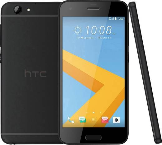 HTC ONE A9s LTE-Smartphone 12.7 cm (5 Zoll) 2 GHz Octa Core 32 GB 13 Mio. Pixel Android™ 6.0 Marshmallow Schwarz