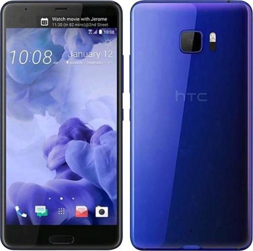 HTC U ULTRA Smartphone Single-SIM 64 GB 14.5 cm (5.7 Zoll) 12 Mio. Pixel Android™ 7.0 Nougat Blau
