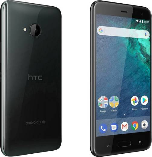 HTC U11 Life Dual-SIM LTE-Smartphone 13.2 cm (5.2 Zoll) 2.2 GHz Octa Core 32 GB 16 Mio. Pixel Android™ 8.0 Oreo Schwarz