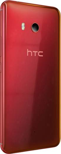 HTC U11 Hybrid-Slot LTE-Smartphone 14 cm (5.5 Zoll) 2.45 GHz Octa Core 64 GB 12 Mio. Pixel Android™ 7.1 Nougat Rot