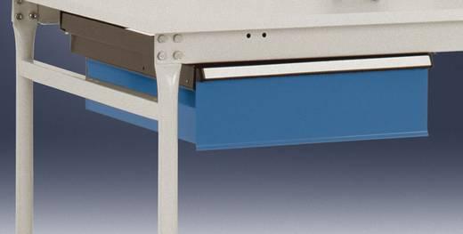 Manuflex ZB4163.0001 Einzelschubfach mit Schloß BASIS, für 800 mm Tiefe KRIEG-Hausfarbe graugrün