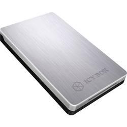"""2.5 """" ICY BOX IB-234-U31a, USB 3.1, strieborná"""