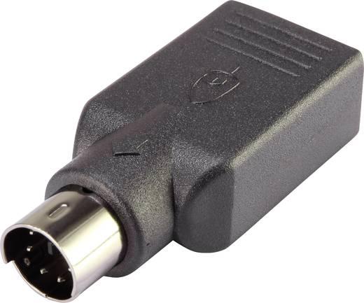 USB / PS/2 Maus Adapter [1x PS/2-Stecker - 1x USB 2.0 Buchse A ...