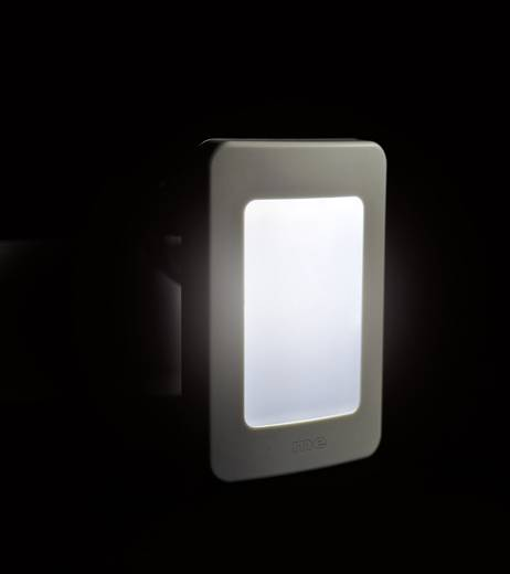 m-e modern-electronics 41145 Funkgong Empfänger mit automatischem Nachtlicht