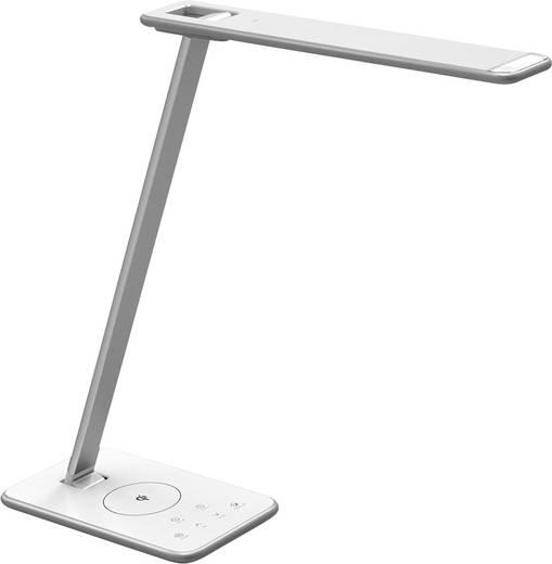 LED-Schreibtischleuchte 10 W Warm-Weiß, Neutral-Weiß, Tageslicht-Weiß LEDmaxx 10TL03 Silber