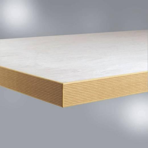 Manuflex ZB1900 WB-Platte 22, PVC weißgrau 40mm, 1000x800mm (B x H x T) 1000 x 40 x 800 mm