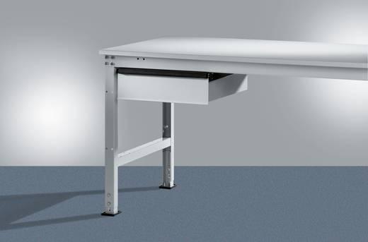Manuflex ZB4153.3003 Einzelschubfach UNIVERSAL für 800-1200mm Tiefe ohne Schloß RAL3003 rubinrot