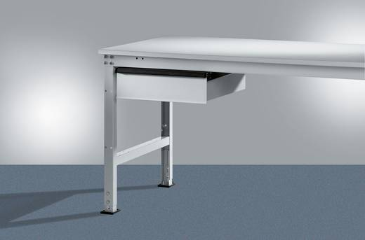 Manuflex ZB4171.5012 Einzelschubfach mit Schloß UNIVERSAL, für 600 mm Tiefe RAL 5012 lichtblau