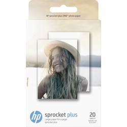 Image of HP ZINK® PLUS PHOTO PAPER 2LY72A Fotodrucker Fotopapier 20 Blatt