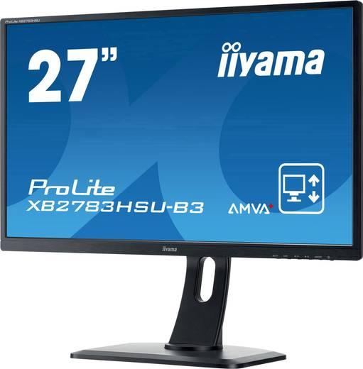 Iiyama XB2783HSU-B3 LED-Monitor 68.6 cm (27 Zoll) EEK B 1920 x 1080 Pixel Full HD 4 ms HDMI™, DisplayPort, VGA, USB 2.0,