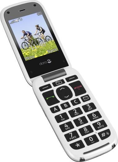 doro phoneeasy 613 senioren klapp handy mit ladestation sos taste grau wei kaufen. Black Bedroom Furniture Sets. Home Design Ideas