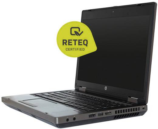 HP ProBook 6475B Notebook (Refurbished) 35.6 cm (14 Zoll) AMD A4 4 GB 320 GB HDD AMD Radeon HD7420G Windows® 7 Profess