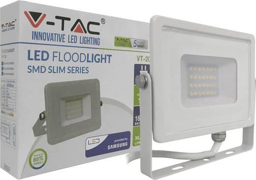 LED-Außenstrahler 20 W Kalt-Weiß V-TAC LED-FL20-K-SMD-SA SKU 444 / VT-20 Weiß