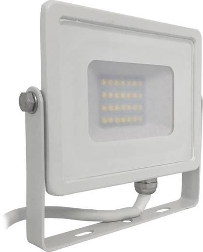 V-TAC LED-FL20-K-SMD-SA SKU 444 / VT-20 LED-Außenstrahler 20 W Kalt-Weiß Weiß