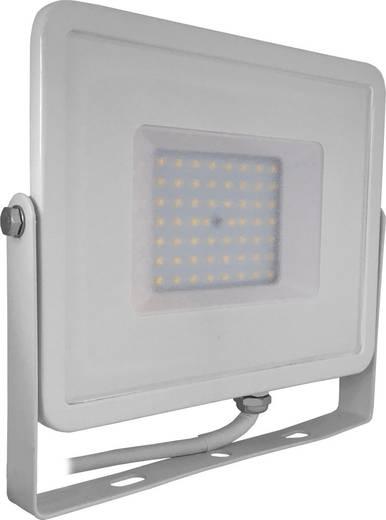 V-TAC LED-FL50-W-SMD-SA SKU 409 / VT-50 LED-Außenstrahler 50 W Warm-Weiß Weiß