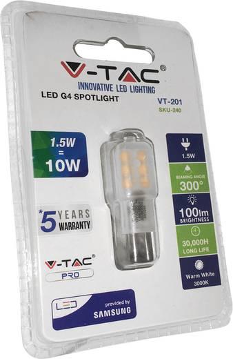 LED-Leuchtmittel LED G4 1.5 W V-TAC LED-G4-1-W-SA SKU 240 / VT-201
