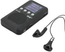 FM kapesní rádio SoundMaster DAB170SW, USB, černá