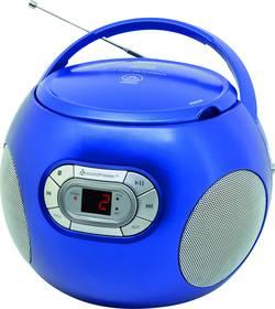 FM CD rádio SoundMaster SCD2120BL, AUX, CD, modrá