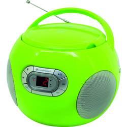 FM rádio s CD prehrávačom SoundMaster SCD2120GR, AUX, CD, sivá
