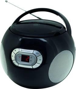 FM CD rádio SoundMaster SCD2120SW, AUX, CD, černá