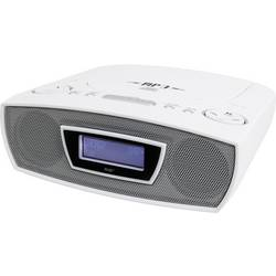 FM radiobudík SoundMaster URD480WE, AUX, CD, FM, USB, bílá