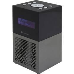 FM radiobudík SoundMaster UR210AN, USB, FM, antracitová