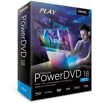 Cyberlink PowerDVD 18 Pro Vollversion, 1 Lizenz Windows Videobearbeitung Preisvergleich