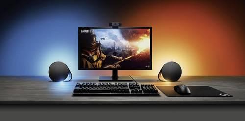 PC Lautsprecher am Arbeitsplatz